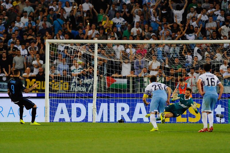 Lazio Inter - Calcio Campionato di Serie A 2014/2015