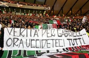Solidarietà del Mondo Ultras alla Famiglia Sandri