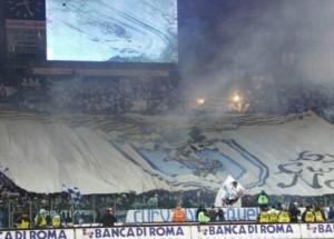 Curva Nord e Tribuna Tevere per una finale di Coppa Italia...